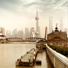 Shanghai, en Chine.