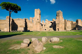 Baths of Caracalla in Rome, Italy