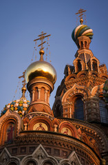 Church of the Savior on the Blood in St. Petersburg, Russia