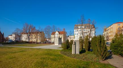Ottmar Geschke Square, Fuerstenwalde, Germany