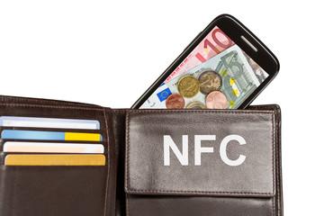 Brieftasche vs NFC - Bezahlen mit dem Handy, Smartphone