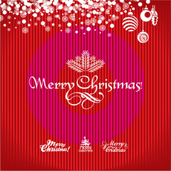 Christmas Greeting Card. Christmas background. Merry Christmas.