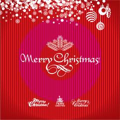 Christmas Greeting Card. Christmas background. Merry Christmas.