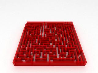 Labirinto, dedalo, enigma, orientamento