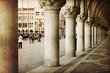 Portico di Palazzo Ducale, Venezia