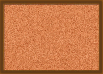 Brown Cork Texture Vector