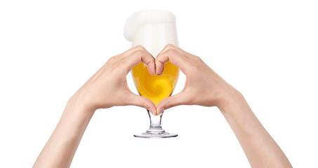 love beer concept