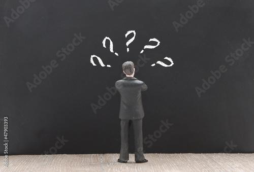 Fragezeichen Businessman