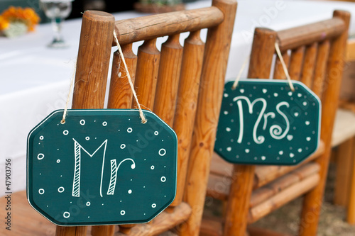 country wedding chairs