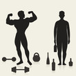 Sportsman and alcoholic