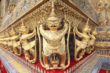 """Krut"" A half bird god, guardian in Wat Phra Kaew,Thailand"