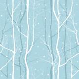 Fototapety trees seamless