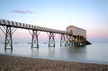 Selsey lifeboat station in West Sussex