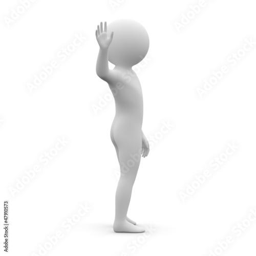 3d human - bye