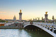Bridge of Alexandre III,  Paris