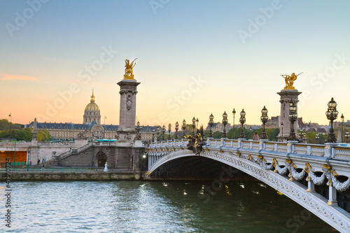 Bridge of Alexandre III,  Paris