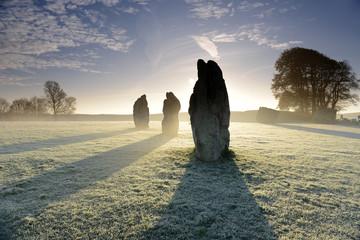Avebury Stones, Wiltshire, England