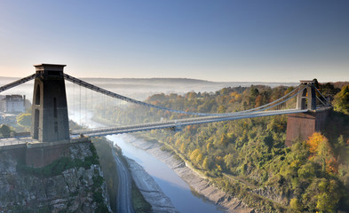 Famous Clifton Suspension Bridge,Bristol