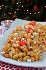 Struffoli neapolitan food