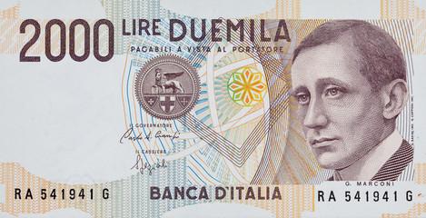Duemila lire_fronte