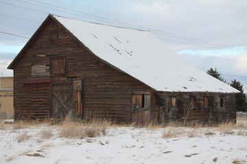 Old barn Bozeman MT