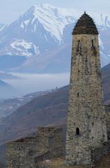 caucasian acient tower