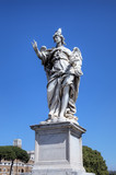 Statue at Sant Angelo Bridge. Roma (Rome), Italy