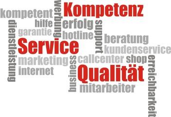 fond service, qualität et kompetenz