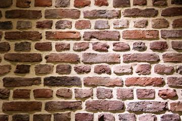 Hintergrund Ziegelmauer