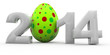 Ostern 2014 mit Osterei