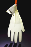 Rubber Glove with Water