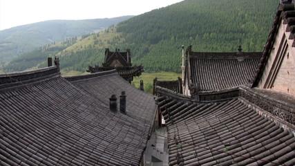 chinesische dächer
