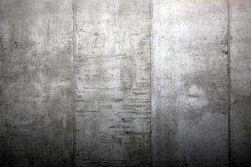 Mauer aus Betonwänden