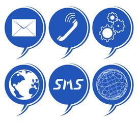 Global communication symbol