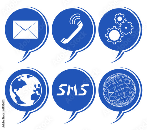 Global communication symbol