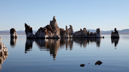 Mono Lake in first light
