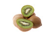 kiwis isolated