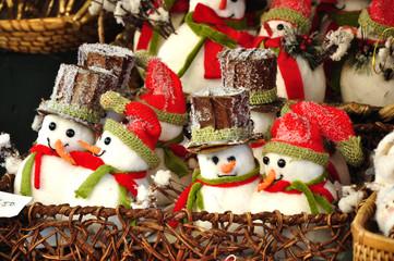 Weihnachtsdekoration Schneemänner