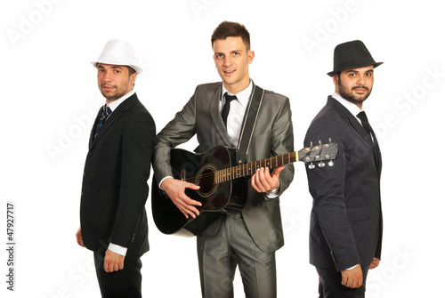 Retro musical band