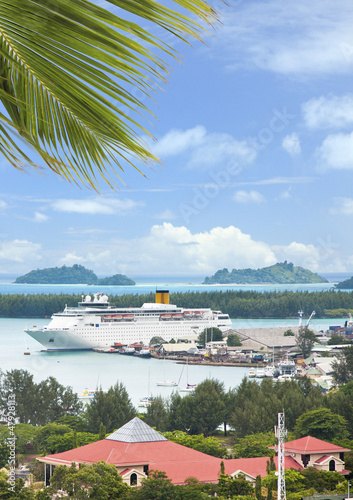paquebot de croisières à Victoria, Seychelles