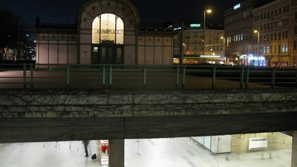 Pavilion of Otto is located above underpass