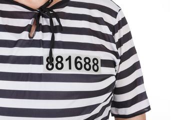 prisoner's costume details