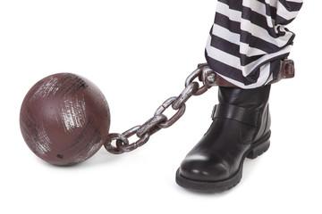 prisoner's leg