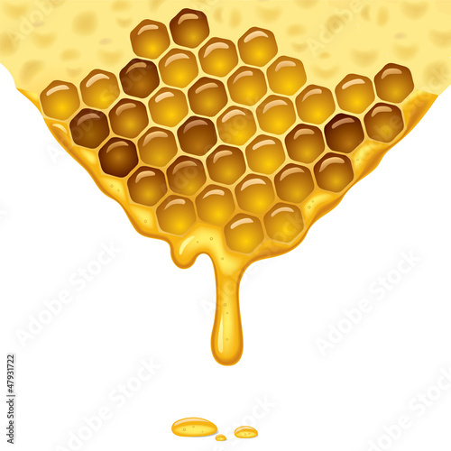 Flowing honey
