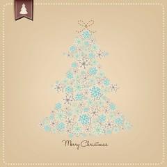 Vector Snowflake Christmas