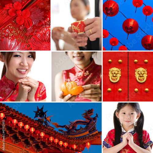 Chinese new year concept