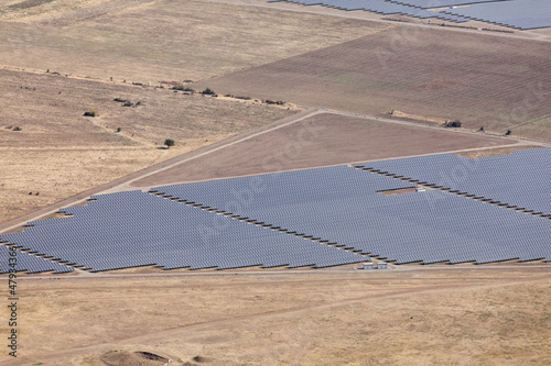 Photovoltaic power station near Kazanlak