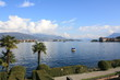 View of Lago Maggiore in northern Italy