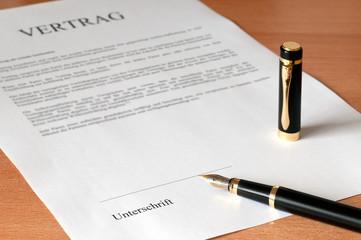 fertig zum unterschreiben