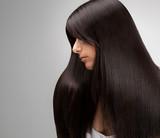 Black Hair.Good quality retouching poster